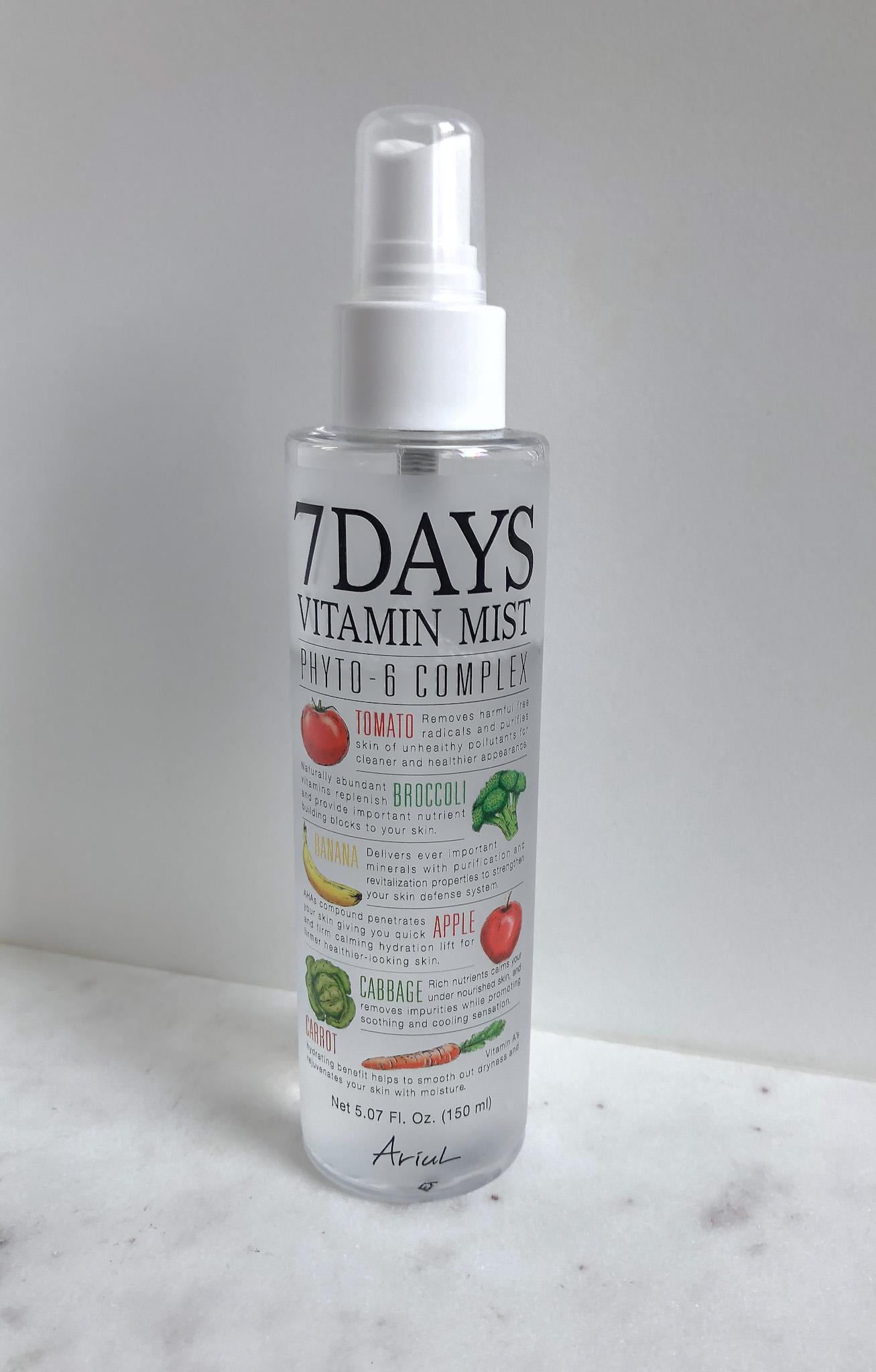 Ariul_7 Days Vitamin Mist_Recenzija