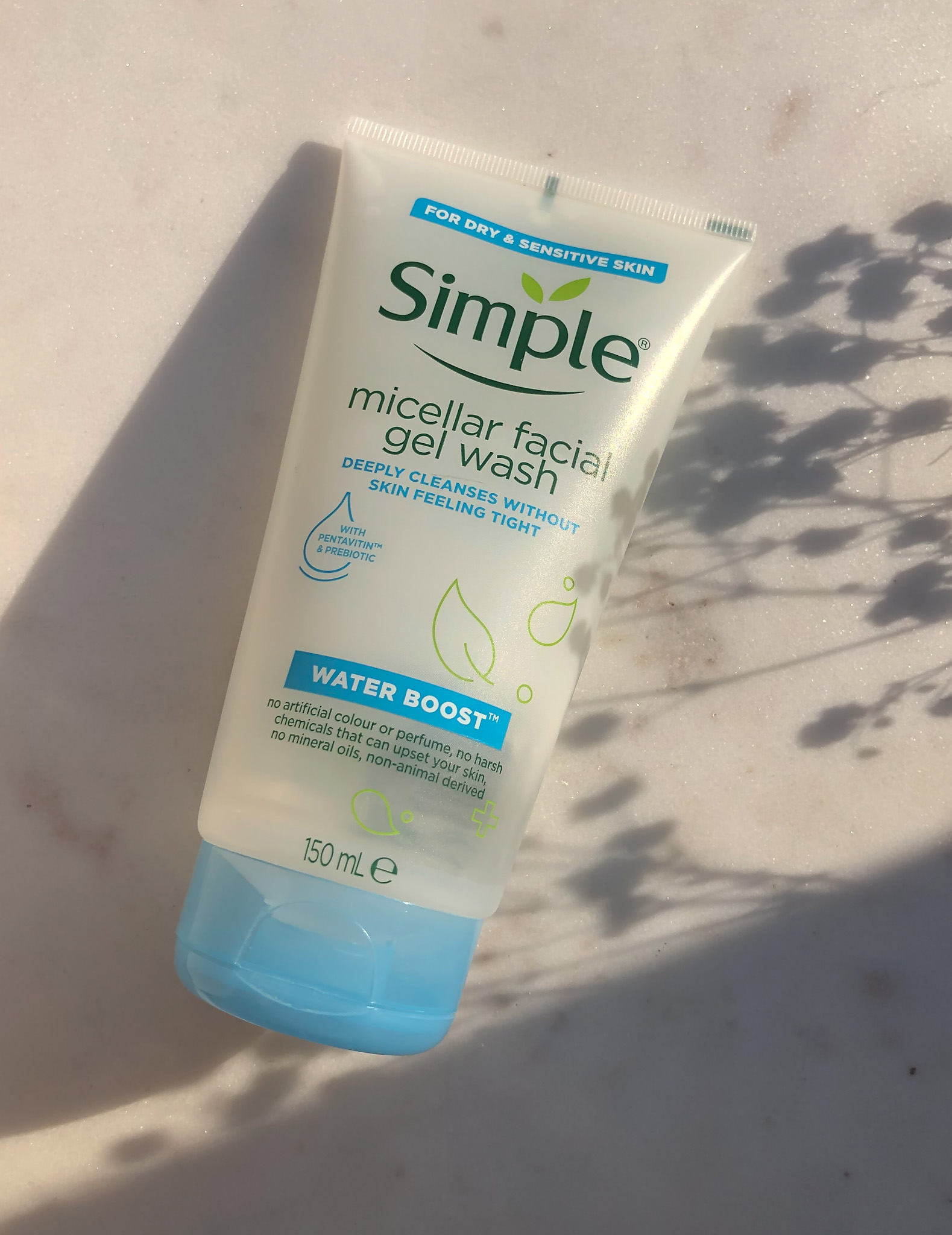 Simple Micellar Facial Gel Wash_Recenzija