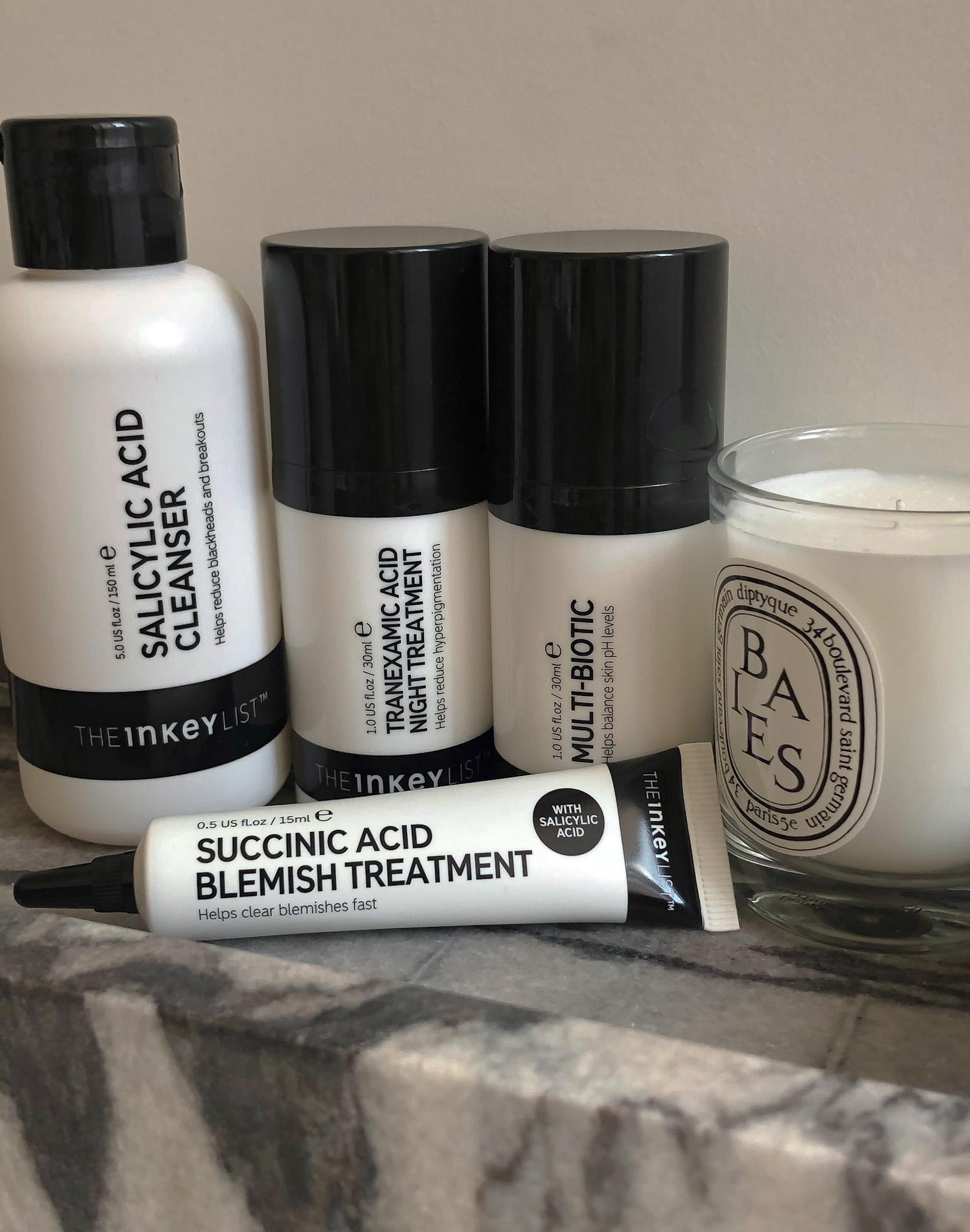 The Inkey List Succinic Acid Blemish Treatment_Recenzija