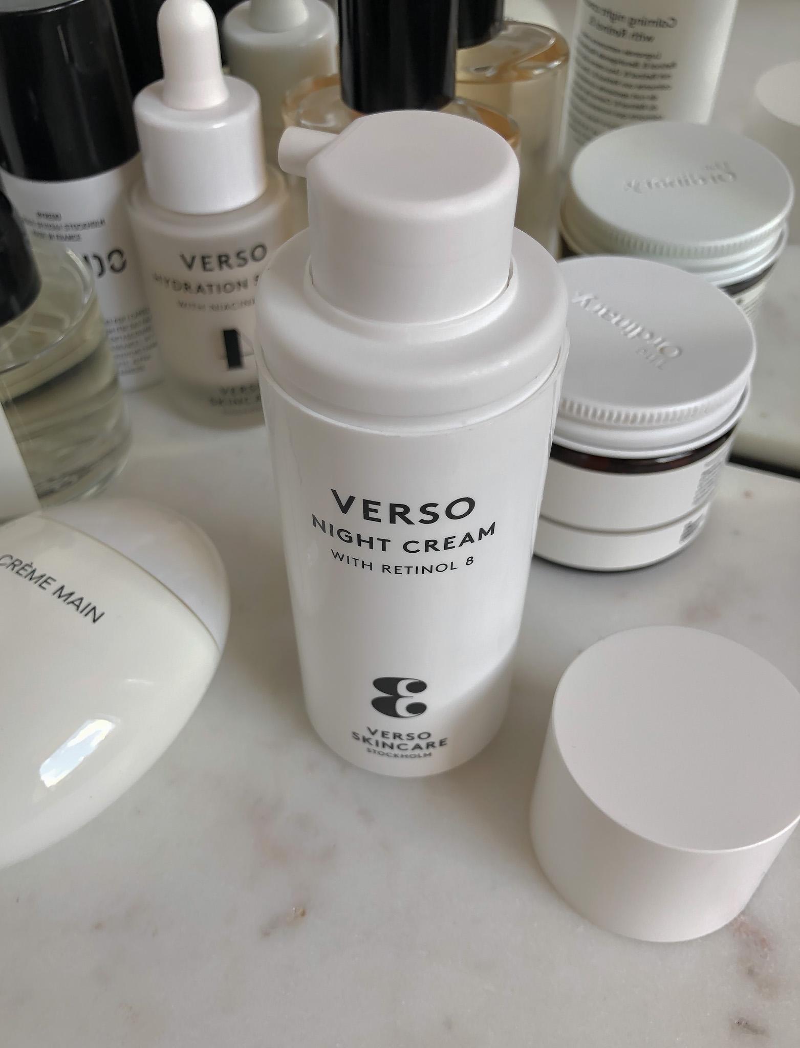 Verso Night Cream Recenzija
