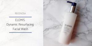 Recenzija_ELEMIS Dynamic Resurfacing Facial Wash