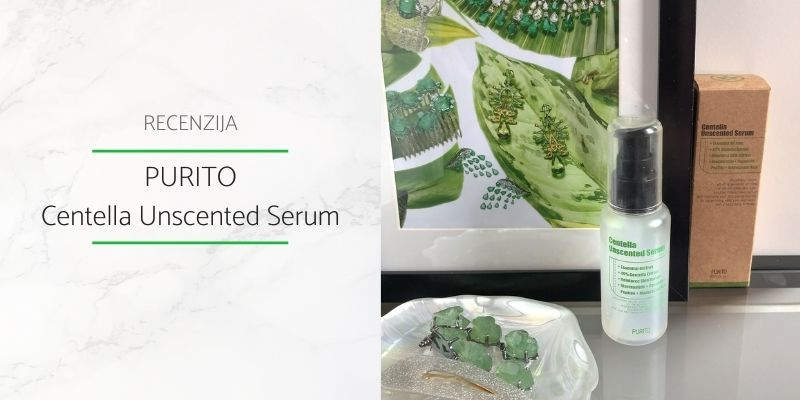 Purito Centella Unscented Serum Recenzija